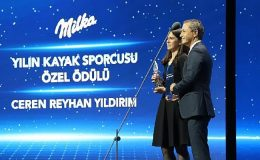 Milka Yılın Kayak Sporcusu Özel Ödülü Ceren Reyhan Yıldırım'ın oldu
