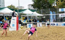 Kadıköy, Uluslararası Footvolley Turnuva'sına ev sahipliği yaptı