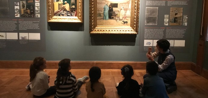 Sakıp Sabancı Müzesin'nde Çocuk Olmak